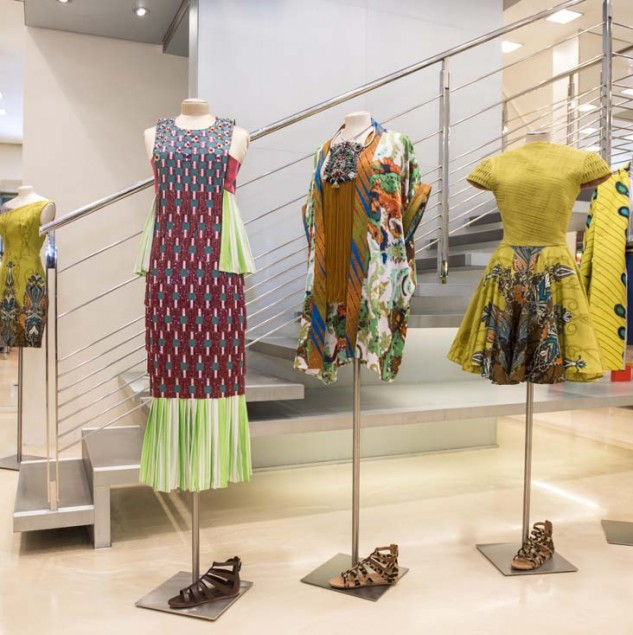 The Ethical Fashion Initiative partners with Biffi Boutiques for Vogue Fashion Night Out Milan to bring African Designers to Milan's fashion week © Solange Souza