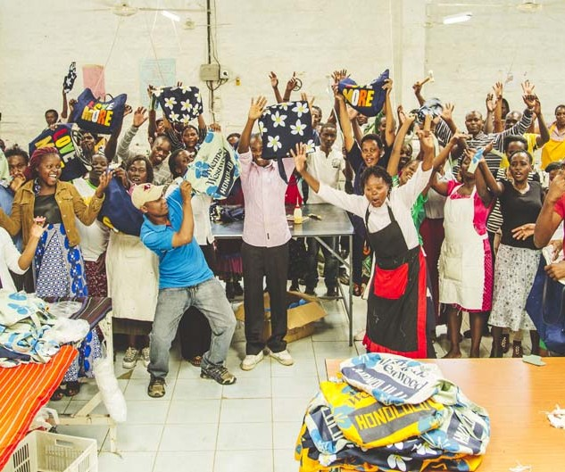 Happy Ethical Fashion Artisans - Kenya - Fair Labour ©Louis Nderi ITC Ethical Fashion Initiative