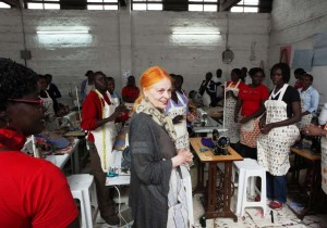 Vivienne Westwood Kenya Made in Africa Collection © ITC Ethical Fashion Initiative