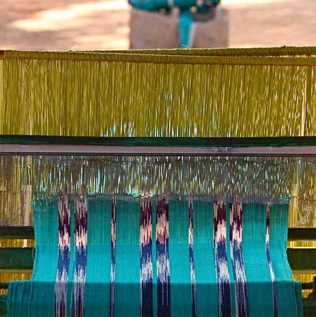 Burkina Faso Dan Fani Fabric Weaving