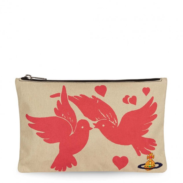 Dove pouch bag designed by Vivienne Westwood and made by artisans in Kenya © Vivienne Westwood
