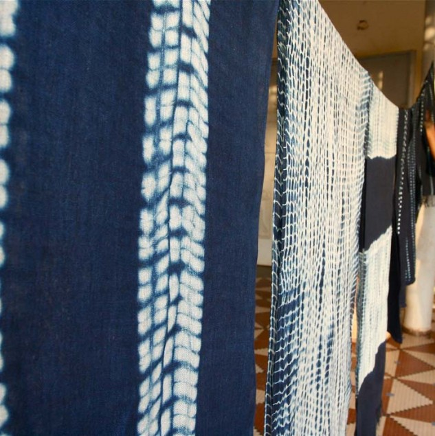 In Mali, we work with artisans specialised in Indigo fabric made with natural indigo dye. © ITC Ethical Fashion Initiative