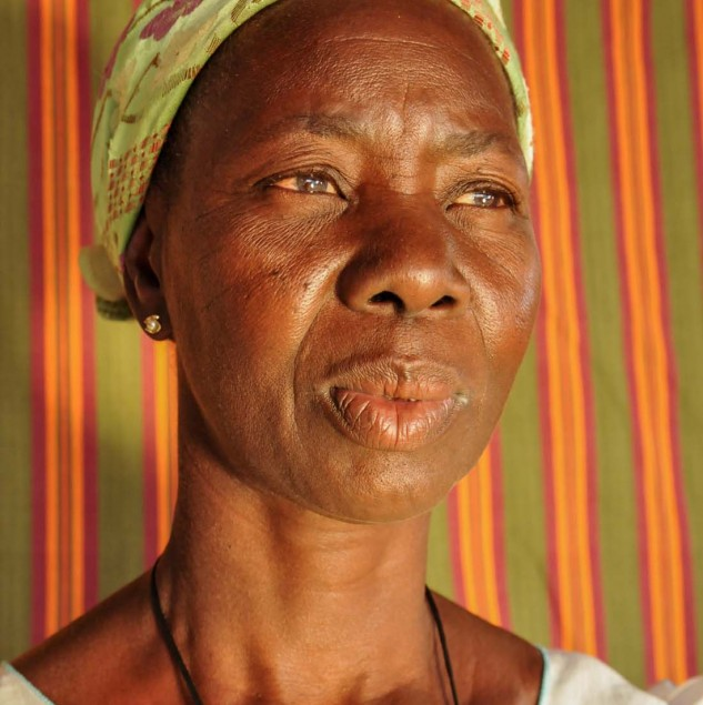 Florentine, an artisan from Burkina Faso says