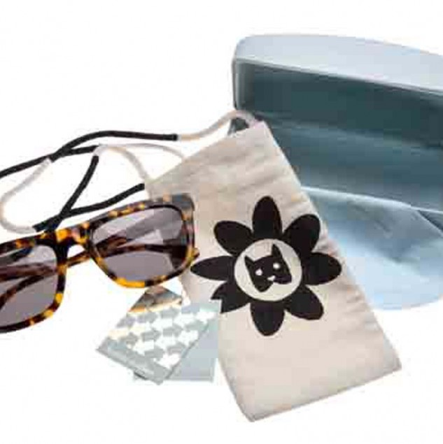 Karen Walker eyewear pouches made in 2014 © Karen Walker