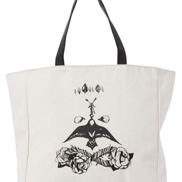Manning Cartell's elegant tote design for the Myer Hands that Shape Humanity project. © Myer