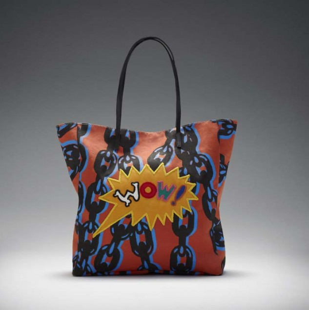 Made 100% in Kenya WOW! Tote sold exclusively at Manor in Switzerland. © ITC Ethical Fashion Initiative