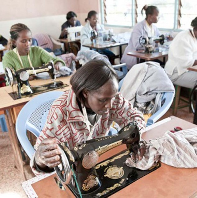 Production for Mifuko in Dagoretti, Kenya, provides skills training and quality employment for the economic empowerment of women. © Uupi Tirronen.