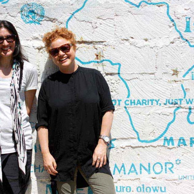 The Mimco team at the Ethical Fashion Initiative hub in Kenya © Joe Lukhovi & Mimco