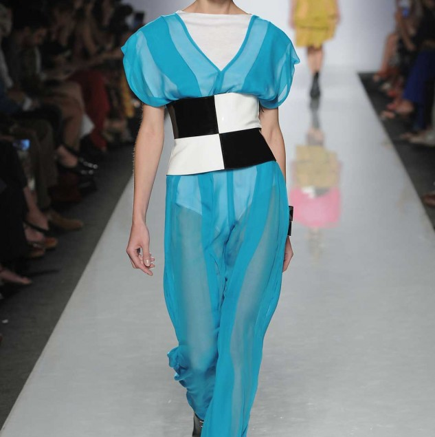 PortenierRoth Spring/Summer 2014 look at Altaroma in 2013. © Altaroma