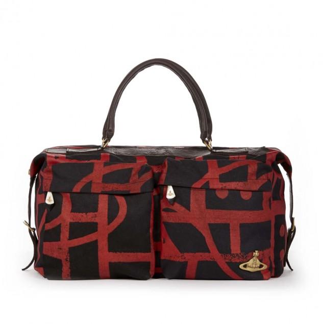 Vivienne Westwood Autumn/Winter 2014 weekender bag made by artisans in Kenya © Vivienne Westwood