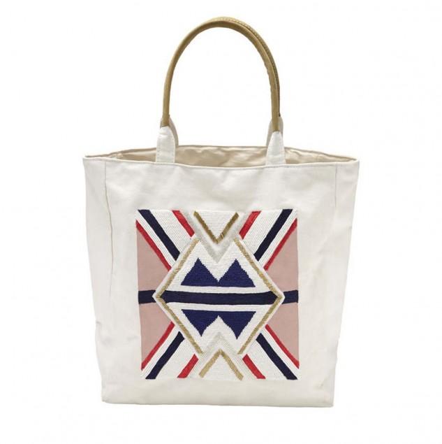sass & bide tote bag made by artisans in Kenya © sass & bide