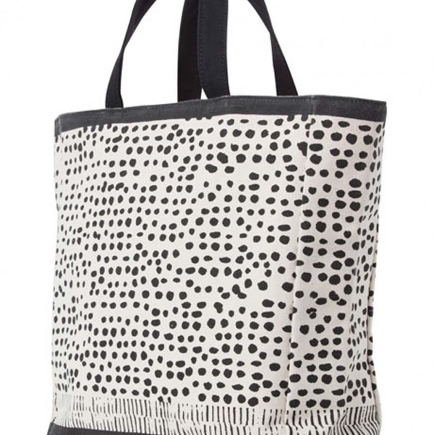 Ethically produced, screen printed sass & bide tote retailed at Australia's leading department store, Myer's. © Myer