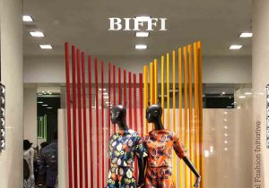 Sindiso Khumalo's Spring/Summer 2016 collection at Biffi Boutique in Milan (c) Solange Souza