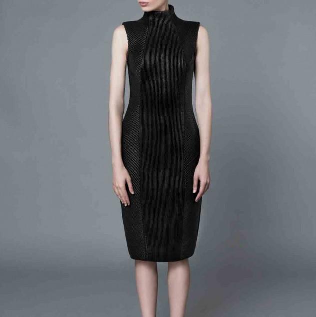 Mimi Plange trapunto Spring/Summer 2016 dress (c) Ruslan Pelykh