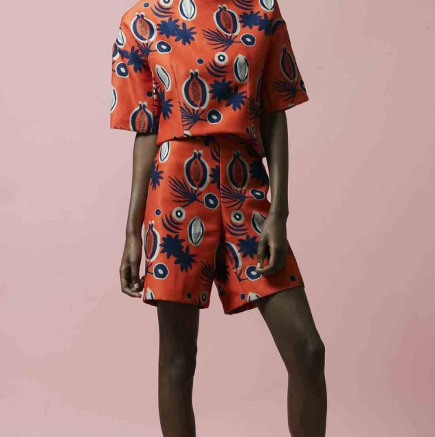 Sindiso Khumalo Spring/Summer 2016 look (c) Andrew Ho