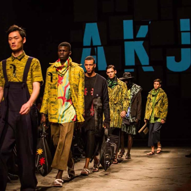 AKJP Autumn/Winter 2016 finale at Generation Africa © Giovanni Giannoni