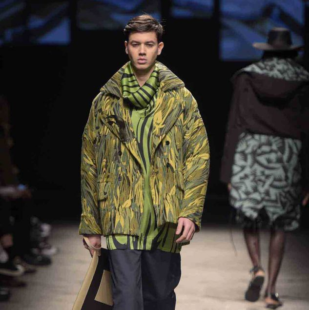 AKJP Autumn/Winter 2016 look show at Generation Africa during Pitti Uomo 89 © Giovanni Giannoni