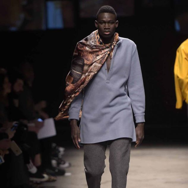 Ikiré Jones Autumn/Winter 2016 look shown at Generation Africa © Giovanni Giannoni