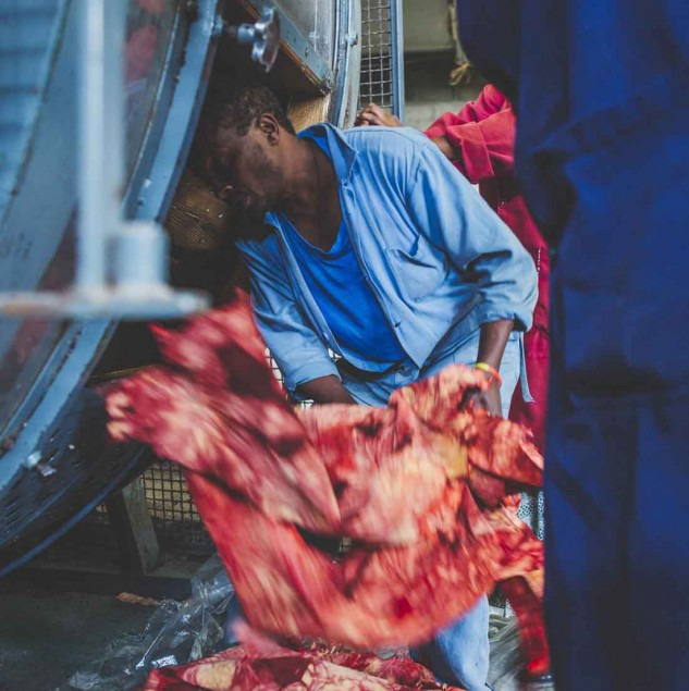 Tanning leather in Ethiopia for the Camper x EFI shoe collection © ITC Ethical Fashion Initiative & Louis Nderi