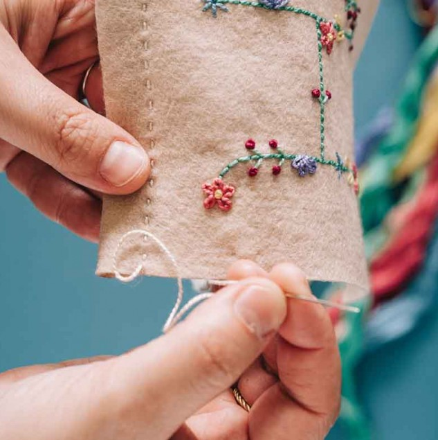 Commonthread DMC embroidery © Commonthread DMC